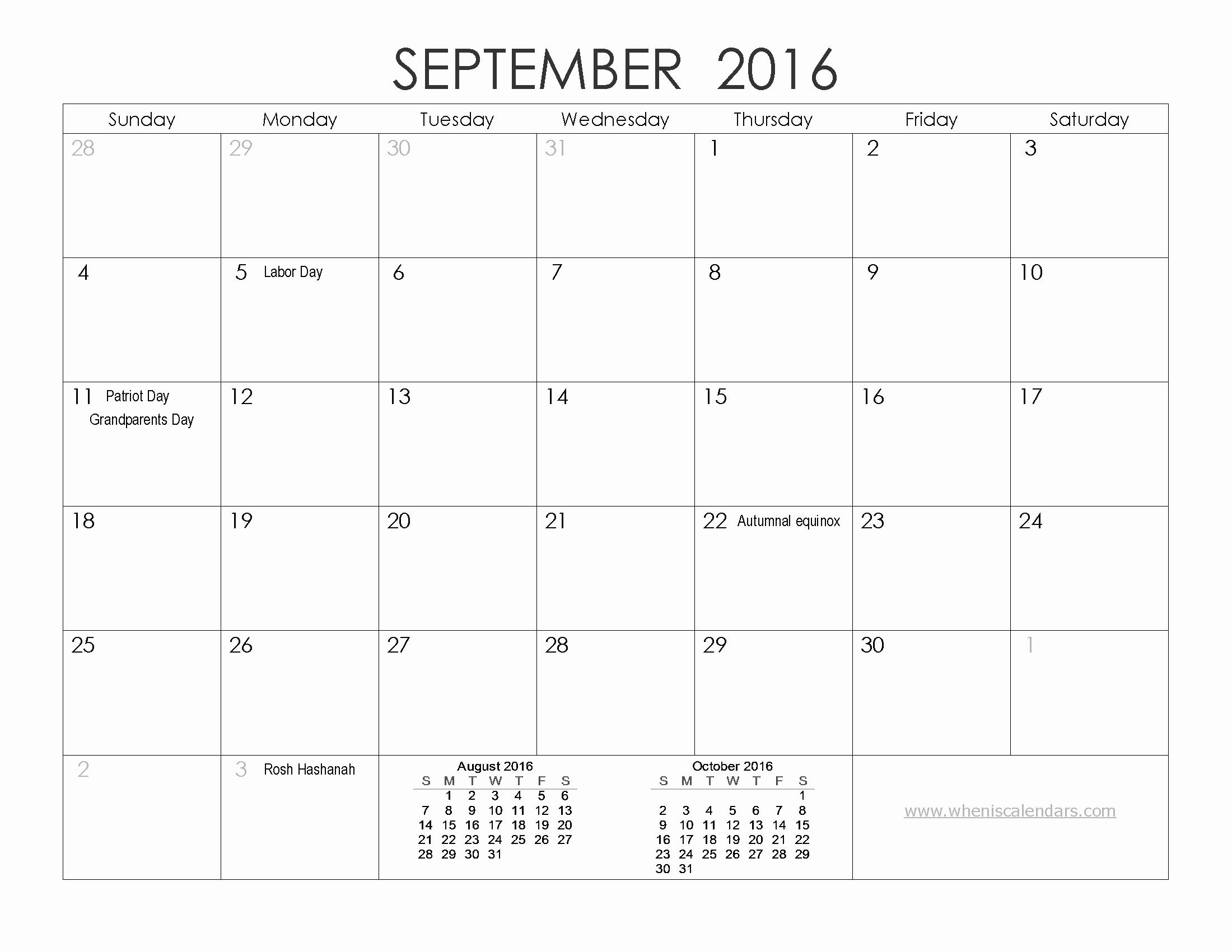 12 Month Calendar for 2016 New 12 Month Printable Calendar 2016