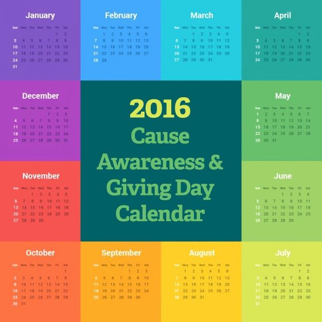 "12 Month Calendar for 2016 New Peer ""pearls"" On Pinterest"