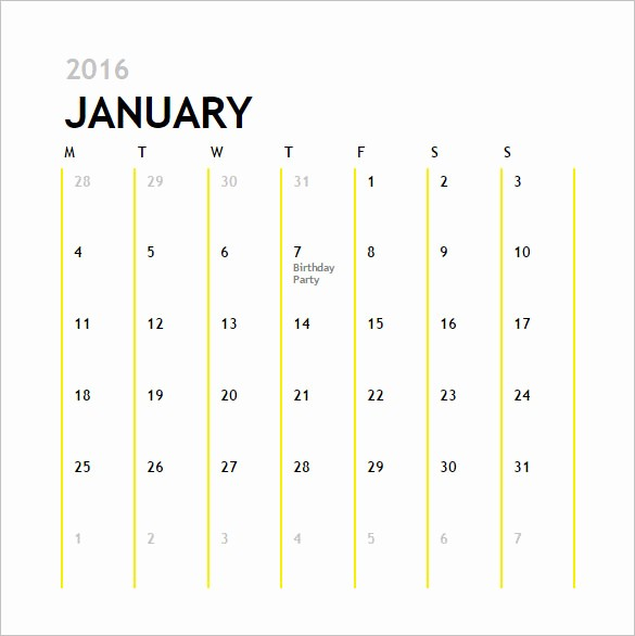 12 Month Calendar Template Word Awesome Calendar Template 41 Free Printable Word Excel Pdf