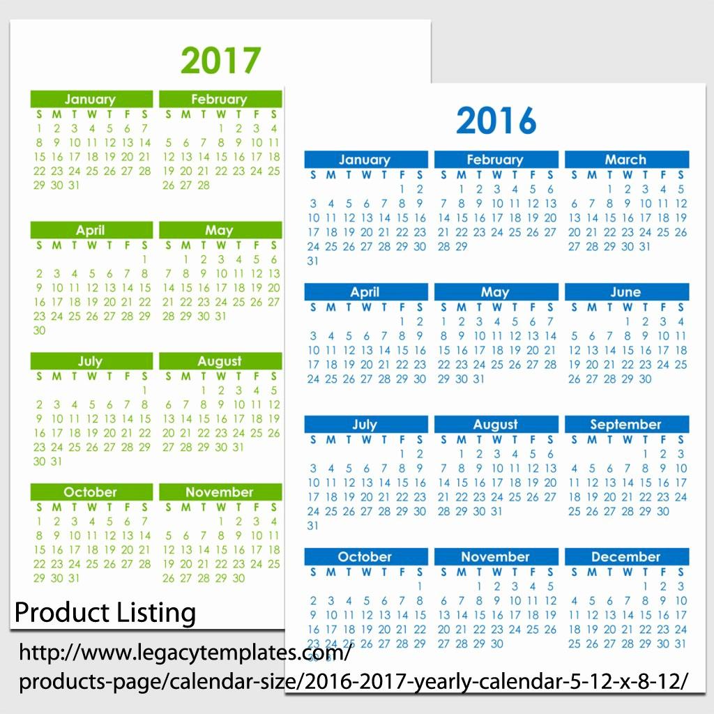 12 Months Calendar 2016 Printable Luxury 8 Best Of 8 12 X 11 Printable Monthly 2016 Calendar