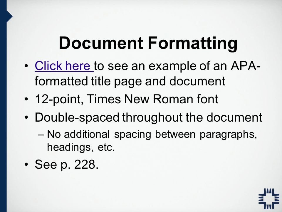 12 Point Font Double Spaced Awesome Apa Style Writing and formatting Apa Manual 6th Edition