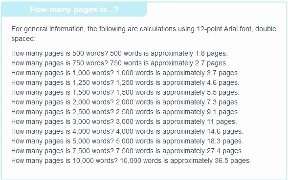 12 Point Font Double Spaced Lovely How Many Pages is A 400 Word Essay Quora