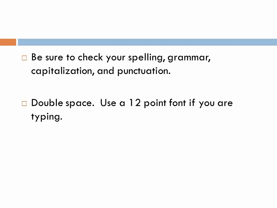 12 Point Font Double Spaced Luxury Argumentative Essay Ppt Video Online