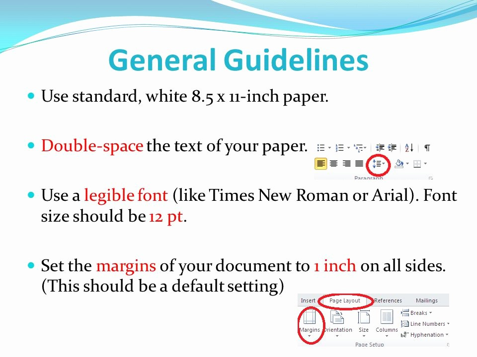 12 Point Font Double Spaced Luxury formatting Your Research Paper Mla Style Ppt Video