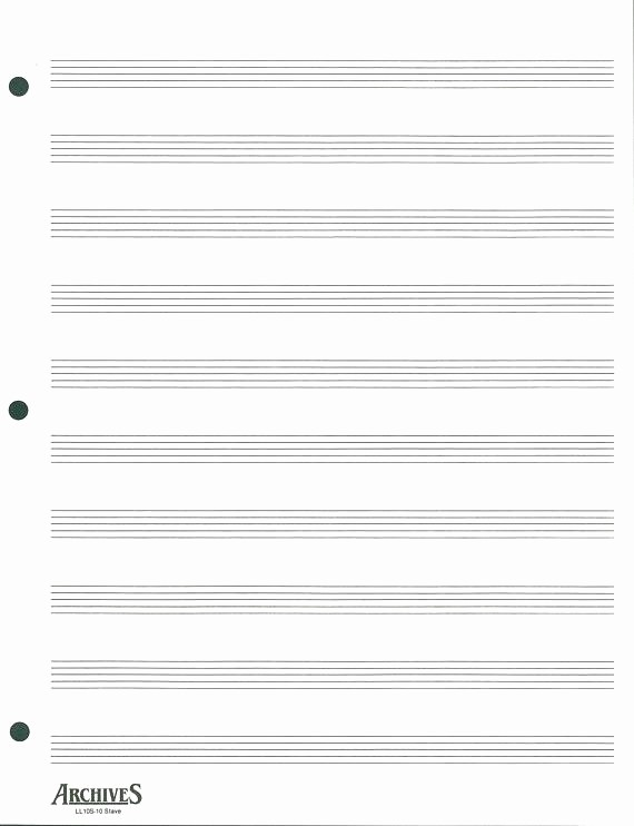12 Stave Manuscript Paper Pdf Awesome Stave Paper Music Staff Paper Template 12 Stave Music