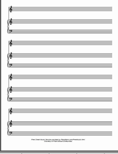 12 Stave Manuscript Paper Pdf Beautiful Music Staff Paper Pdf Free Staff Paper Pdf Blank