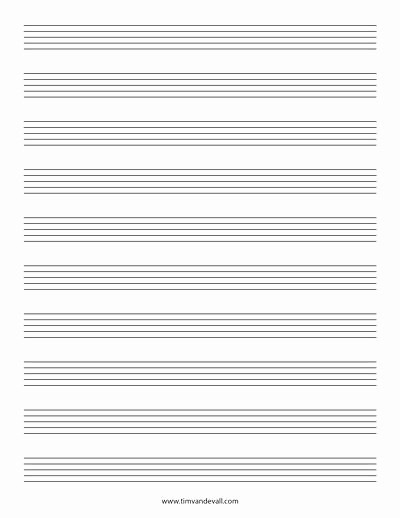 12 Stave Manuscript Paper Pdf Beautiful Stave Paper Music Staff Paper Template 12 Stave Music