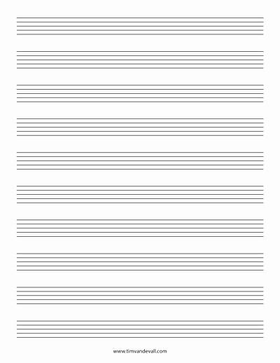12 Stave Manuscript Paper Pdf Beautiful Stave Paper Music Staff Paper Template 12 Stave Music