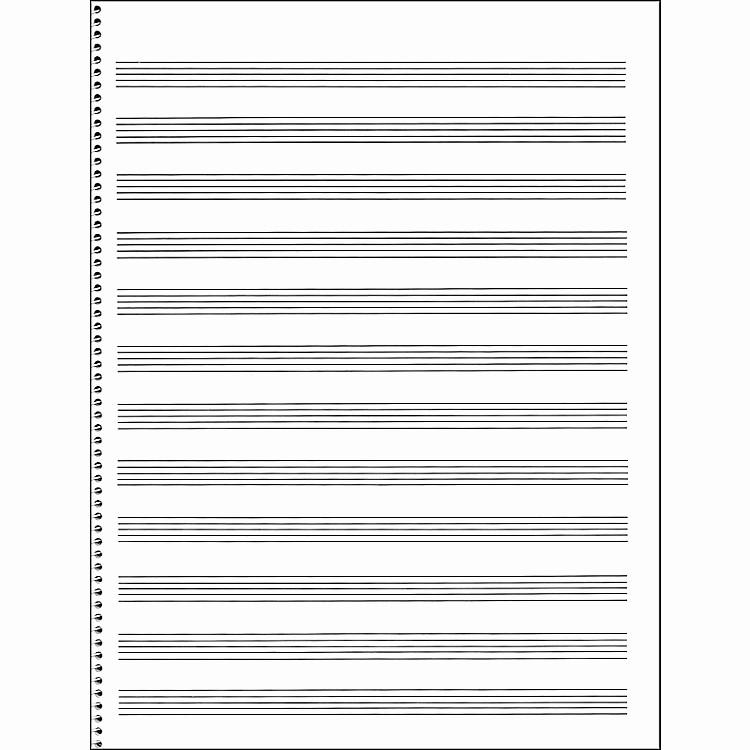 12 Stave Manuscript Paper Pdf Best Of Music Sales Passantino Manuscript Paper 65 12 Stave 32