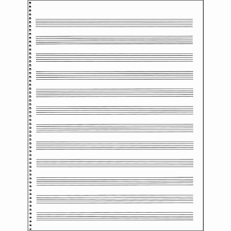 12 Stave Manuscript Paper Pdf Fresh Staff Paper Free Printable Staff Paper Fresh Best Blank