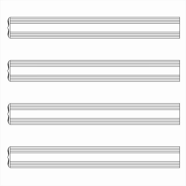 12 Stave Manuscript Paper Pdf Inspirational Stave Paper Music Staff Paper Template 12 Stave Music