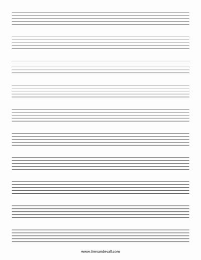 12 Stave Manuscript Paper Pdf Luxury Blank Music Staff Paper Pdf 6 10 12 Stave Sheet Music