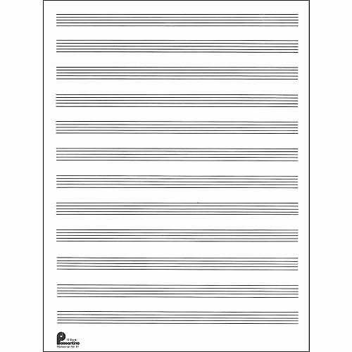 12 Stave Manuscript Paper Pdf Luxury Music Sales Passantino Manuscript Paper Old 51 12 Stave