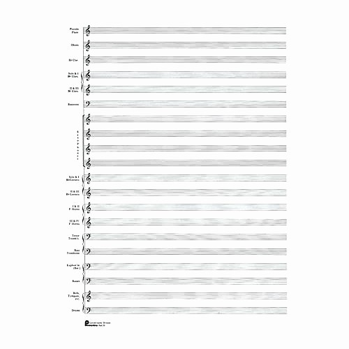 12 Stave Manuscript Paper Pdf Luxury Stave Paper Music Staff Paper Template 12 Stave Music