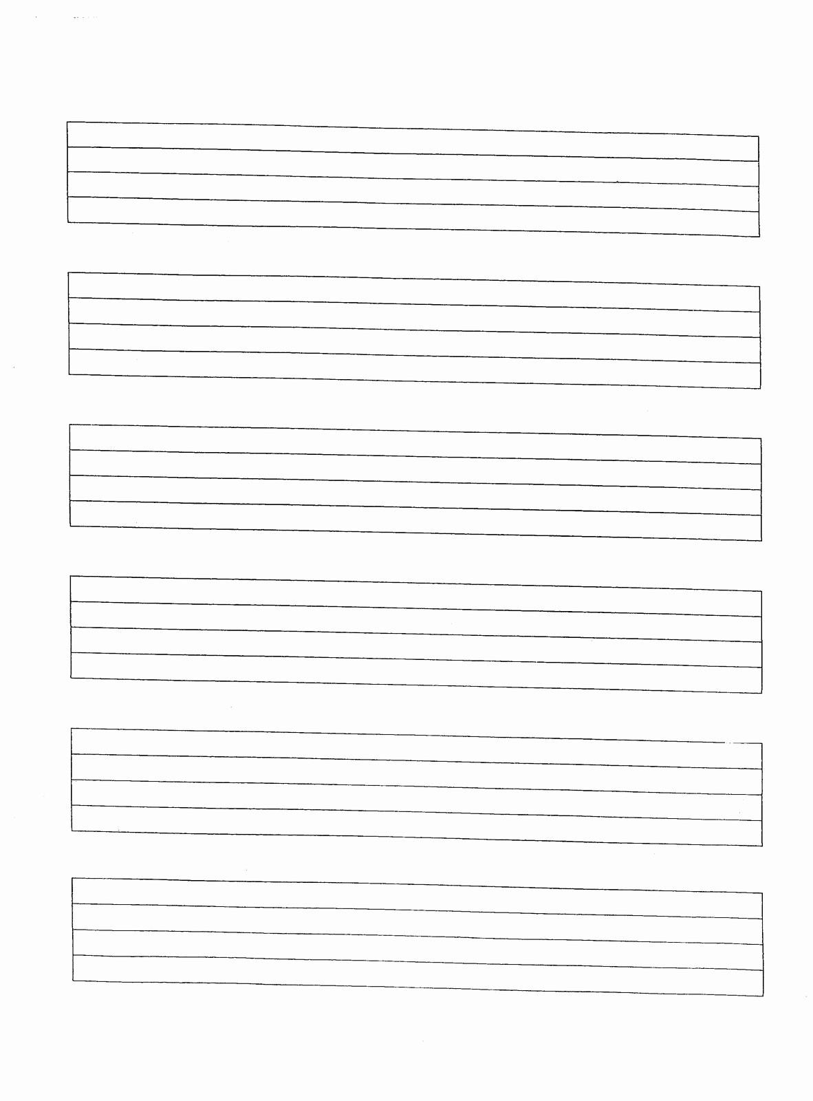 12 Stave Manuscript Paper Pdf New Free Music Manuscript Paper Baskanai