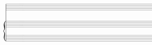 12 Stave Manuscript Paper Pdf Unique Free Sheet Music Blank Printable Blank Guitar Sheet