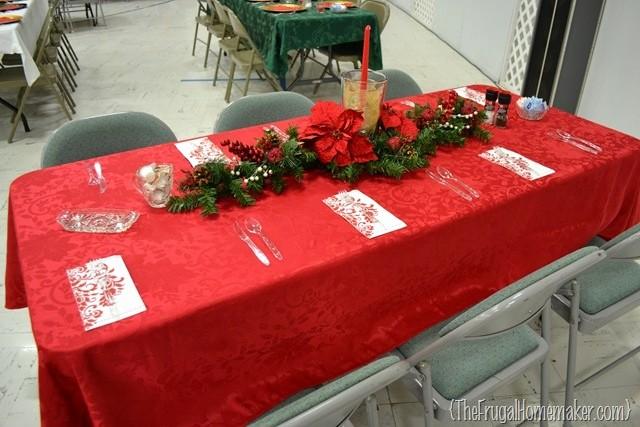 12*12 Multiplication Table Inspirational Christmas Dinner Table Ideas From Our Church's Christmas