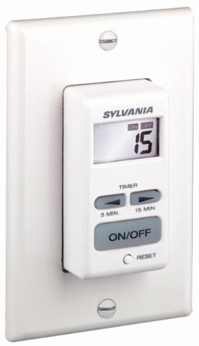 15 Minute Timer with Buzzer Elegant Sylvania 15 Minute F Timer