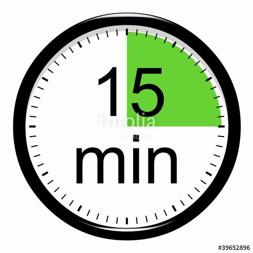 """15 Minute Timer with Buzzer Lovely """"minuterie 15 Minutes"""" Photo Libre De Droits Sur La"""