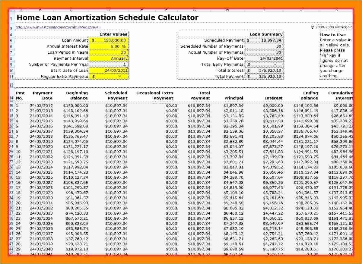 15 Year Amortization Schedule Excel Inspirational 28 Awesome Mortgage Chart Interest and Principal
