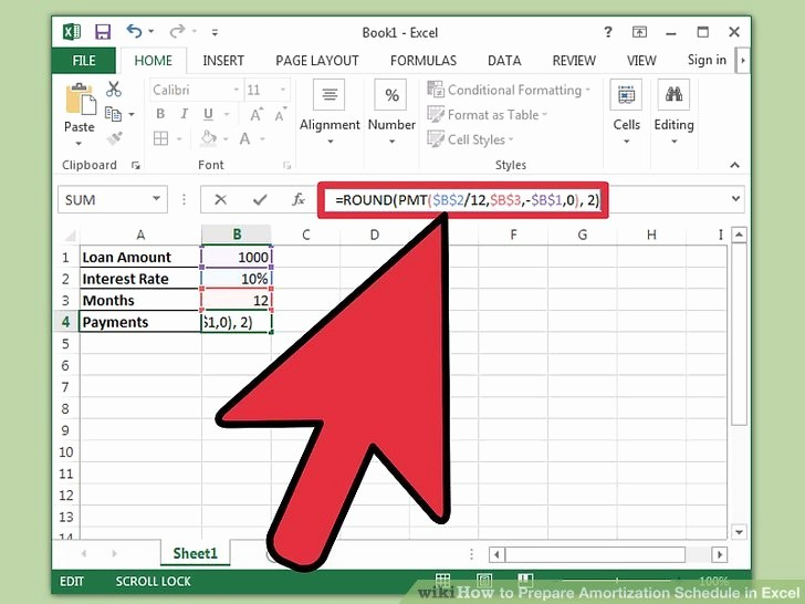 15 Year Amortization Schedule Excel Lovely How to Prepare Amortization Schedule In Excel 10 Steps