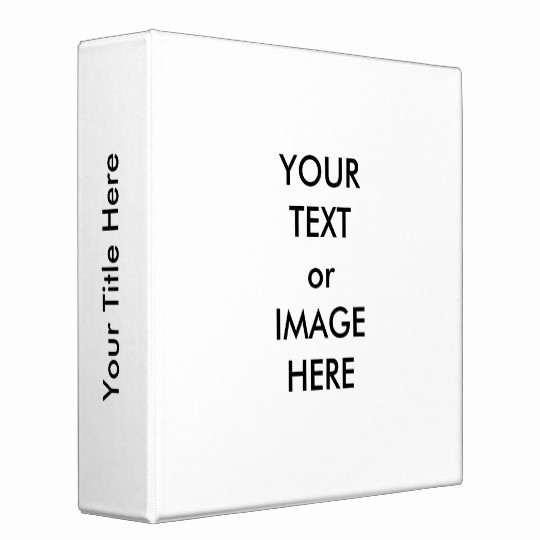 "1"" Binder Spine Template Beautiful Create Your Own 2"" Binder Template White"