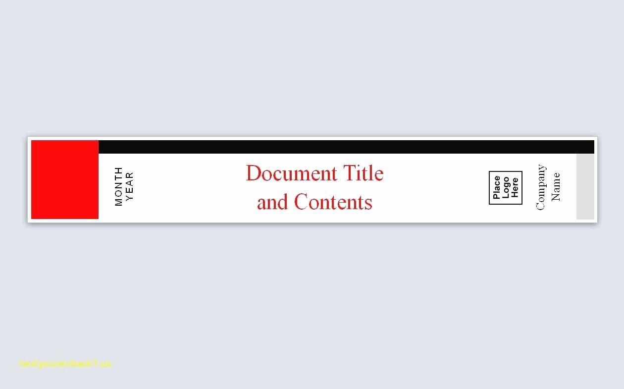 "1"" Binder Spine Template Inspirational Awesome Binder Label Template Excel"