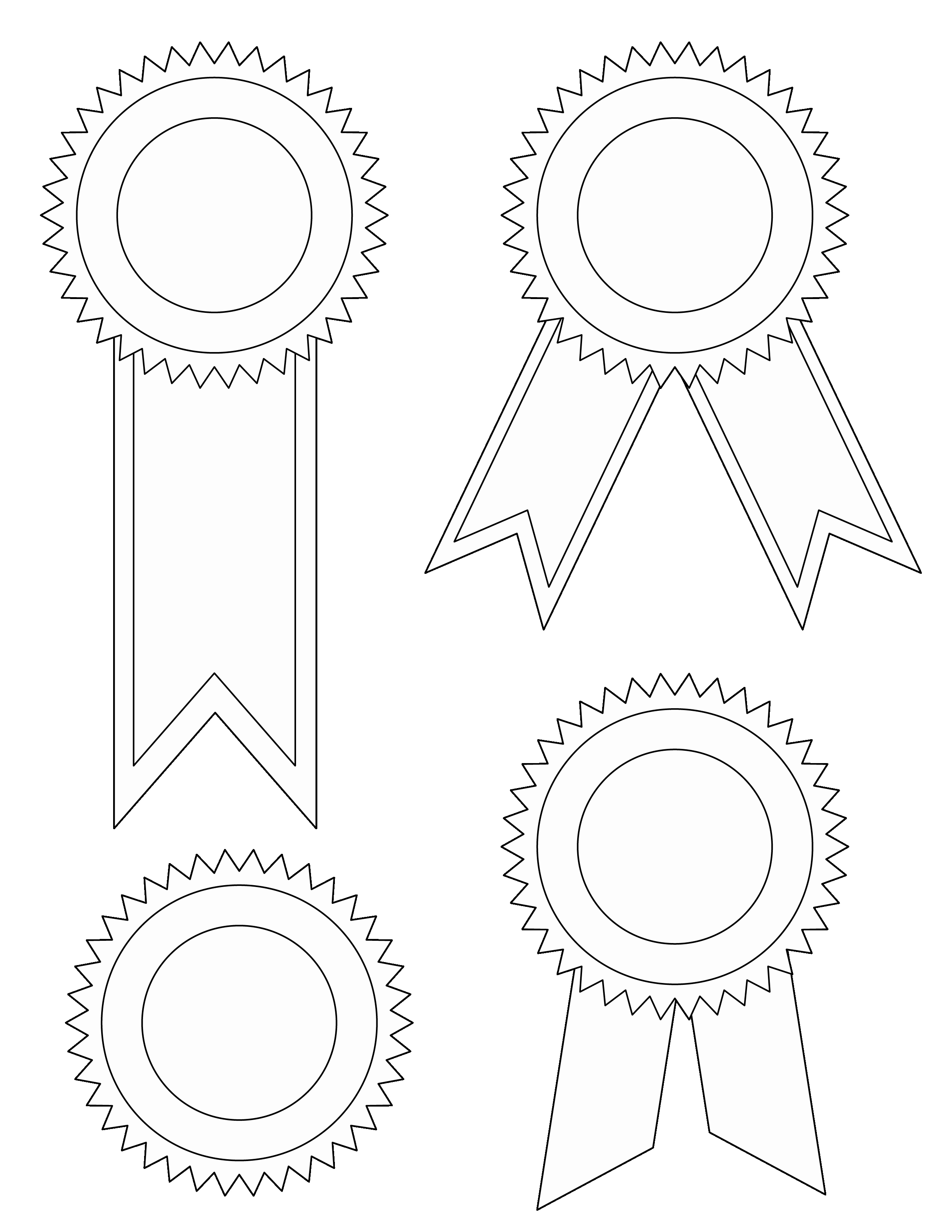 1st Place Certificate Template Word Luxury Award Ribbon Template