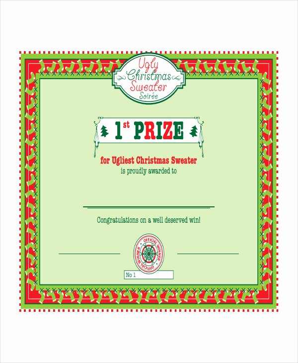 1st Place Certificate Template Word Luxury First Prize Winner Certificate Template Templates Data