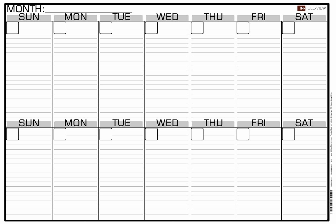 2 Week Calendar Template Word Lovely 2 Week Calendar with Lines
