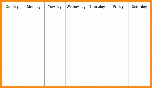 2 Week Calendar Template Word Unique Two Week Printable Calendar Microsoft Word Weekly Template