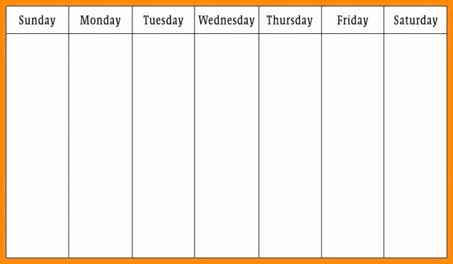 2 Week Calendar Template Word Unique Two Week Printable Calendar Microsoft Word Weekly Template