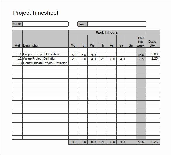2 Week Time Card Template Elegant 15 2 Week Timesheet Template