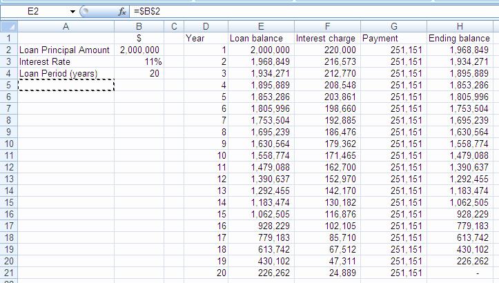 20 Year Amortization Schedule Excel Elegant Microsoft Office Excel Mortgage Amortization Schedule W