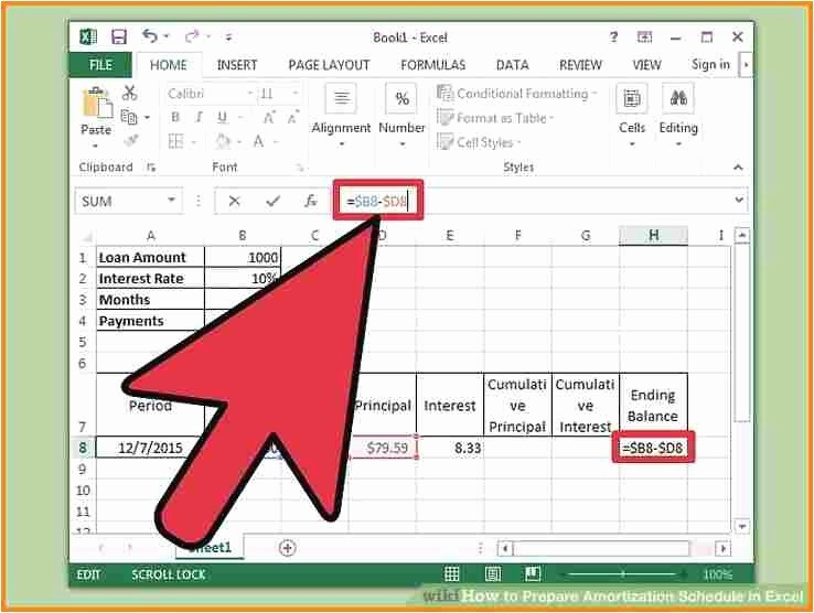 20 Year Amortization Schedule Excel Fresh Amortization Schedule Template Picture 11 Create An
