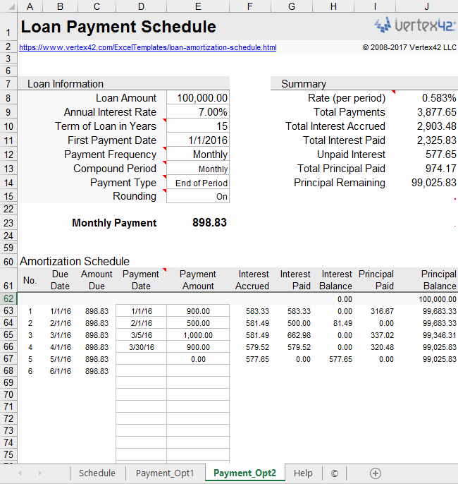 20 Year Amortization Schedule Excel Inspirational Loan Amortization Schedule and Calculator