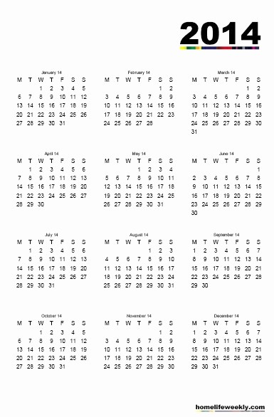 2013 Calendar Printable One Page Beautiful Free Printable Pdf 2013 2014 Calendar 1 Month 1 Page