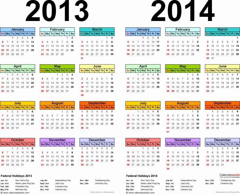 2013 Calendar Printable One Page New 2013 Yearly Calendar Printable E Page Free Calendar