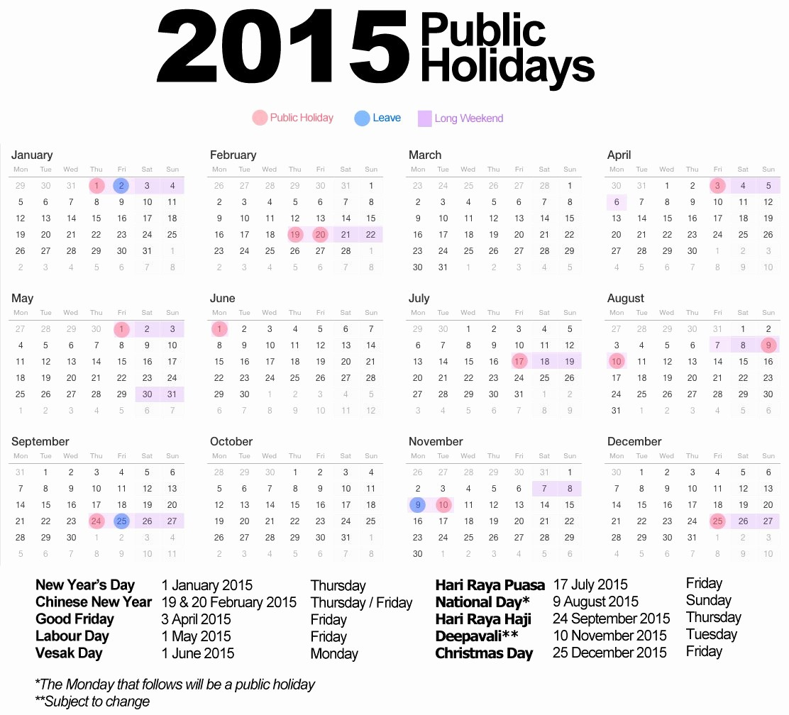 2015 Calendar with Holidays Excel Awesome Calendar with Holidays 2015