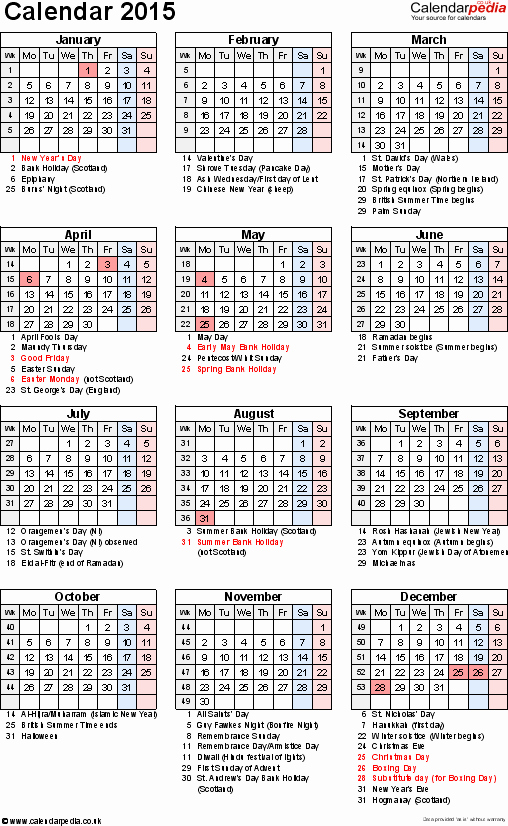2015 Calendar with Holidays Excel Beautiful Excel Calendar 2015 Uk 16 Printable Templates Xlsx Free