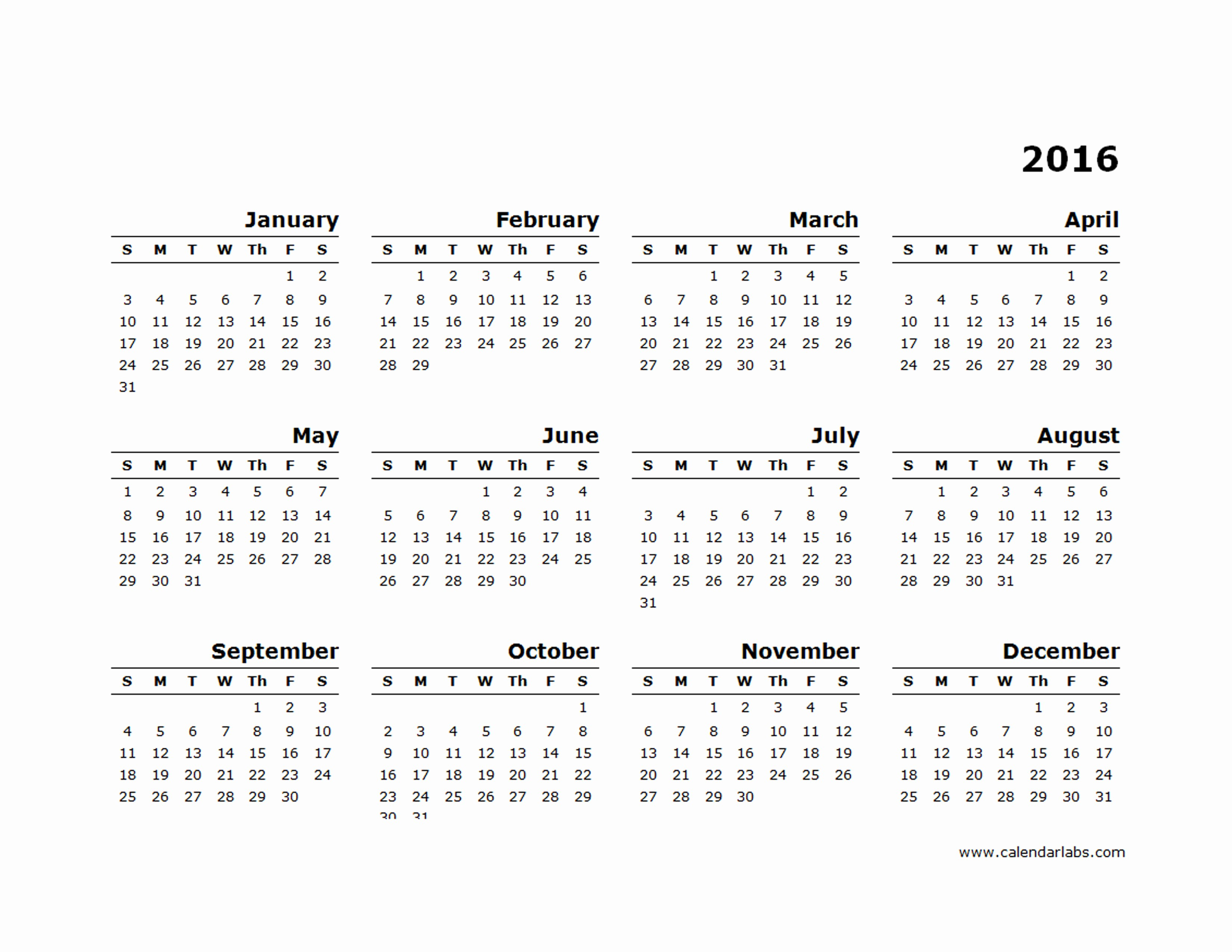 "2015 Yearly Calendar Printable Landscape Beautiful Search Results for ""editable Calendars"" – Calendar 2015"