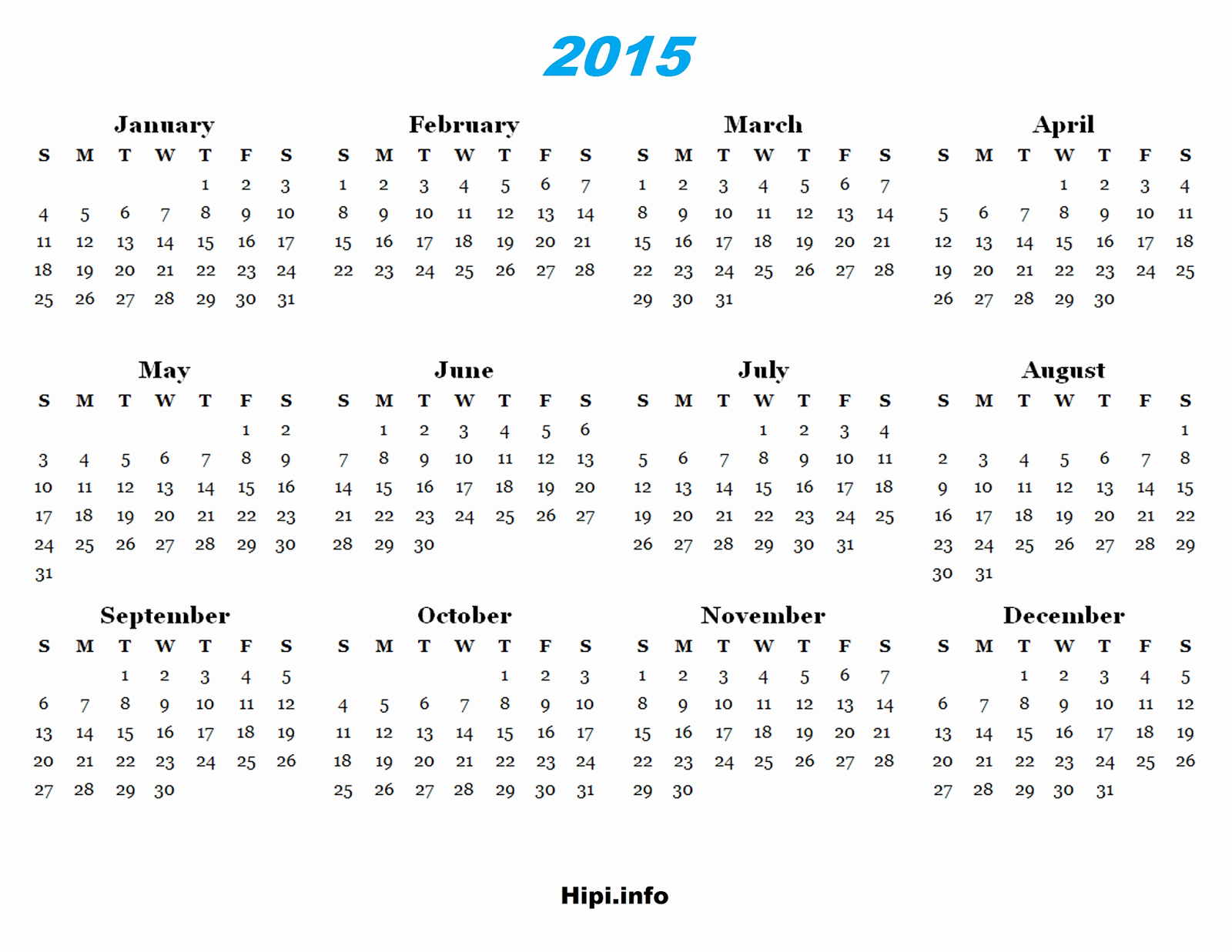 2015 Yearly Calendar Printable Landscape Elegant Twitter Headers Covers Wallpapers Calendars