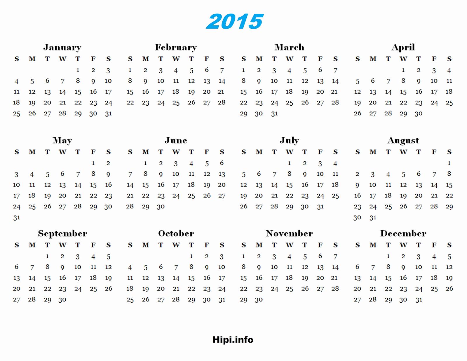 2015 Yearly Calendar Printable Landscape Elegant Twitter Headers Covers Wallpapers Calendars