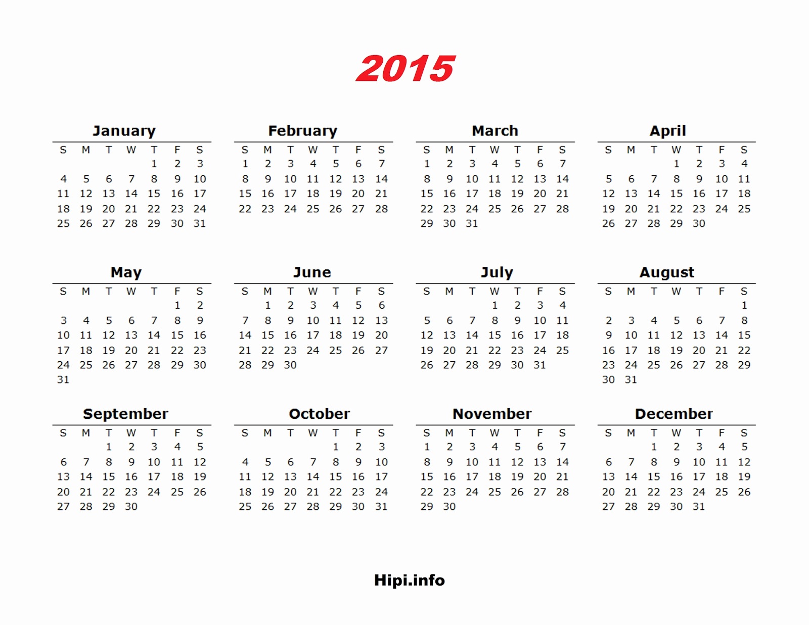 2015 Yearly Calendar Printable Landscape Fresh Twitter Headers Covers Wallpapers Calendars