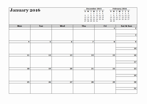 2016 12 Month Calendar Printable Lovely 2016 Three Monthly Calendar Template Free Printable