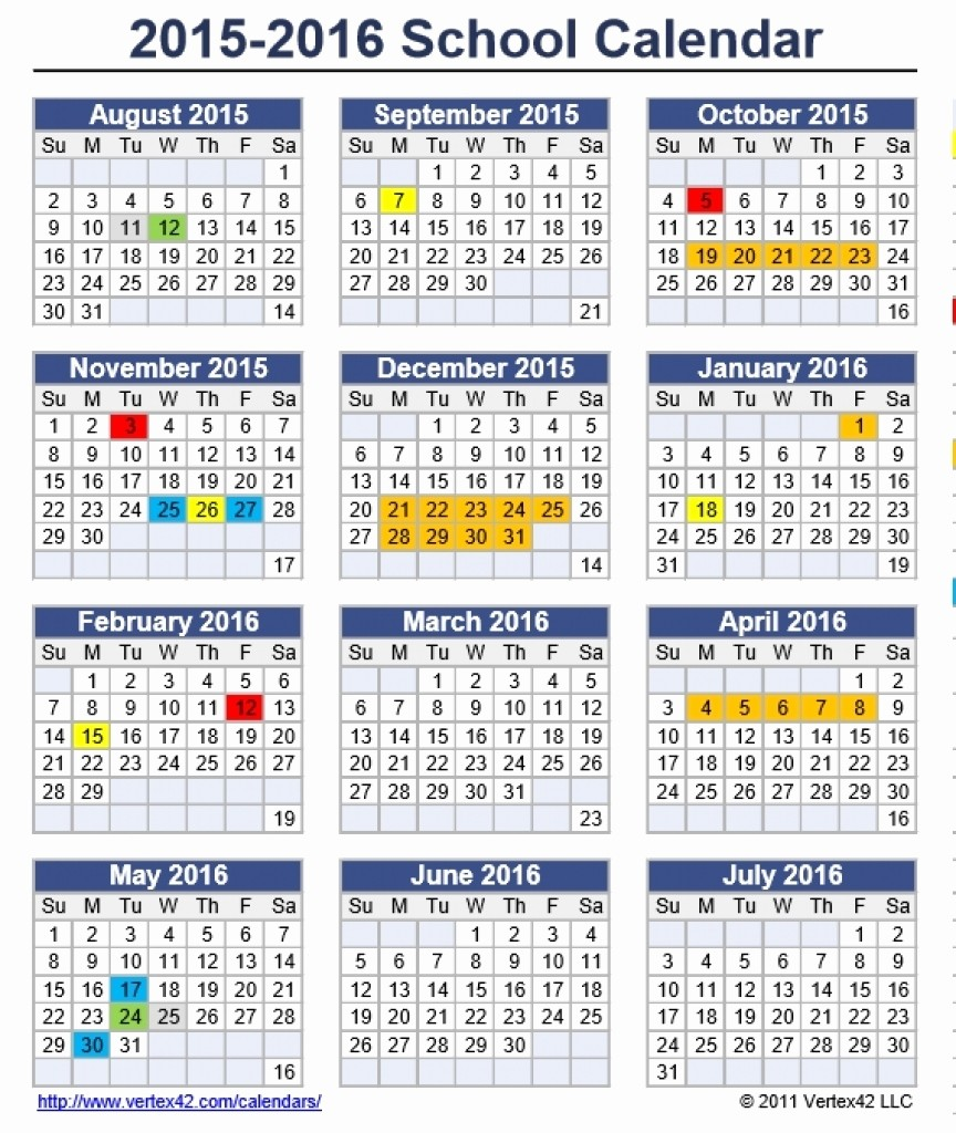 2016 2017 School Calendar Template Awesome Palm Beach County School Calendar 2015 2016