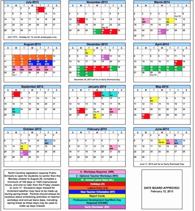 2016 2017 School Calendar Template Best Of Broward School Calendar 2016 2017
