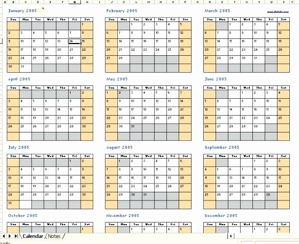 2016 Calendar Excel with Holidays Awesome Calendars for Excel Excel Calendar with Holidays 2016