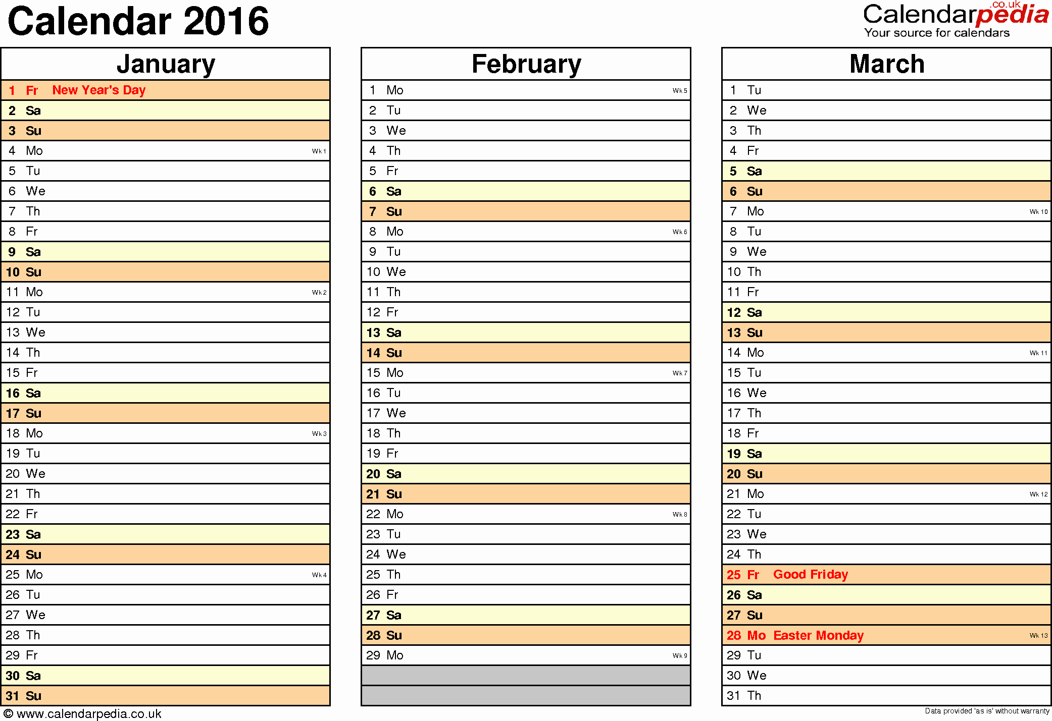 2016 Calendar Excel with Holidays Beautiful Excel Calendar 2016 Uk 16 Printable Templates Xlsx Free