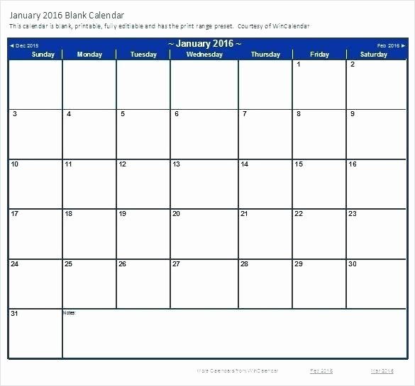 2016 Calendar Excel with Holidays Inspirational Printable Calendar Feb 2016 Excel Download Blank Schedule